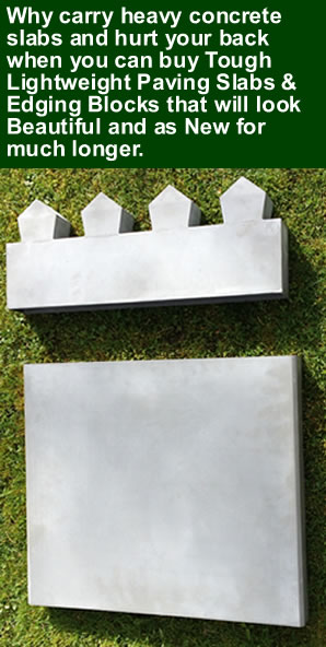 edging paving slab