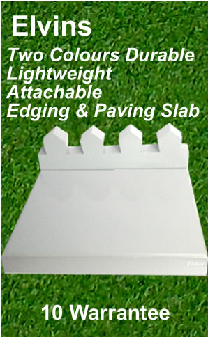 edge paving slab